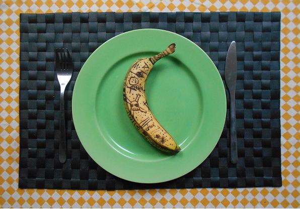 Banana tattoos