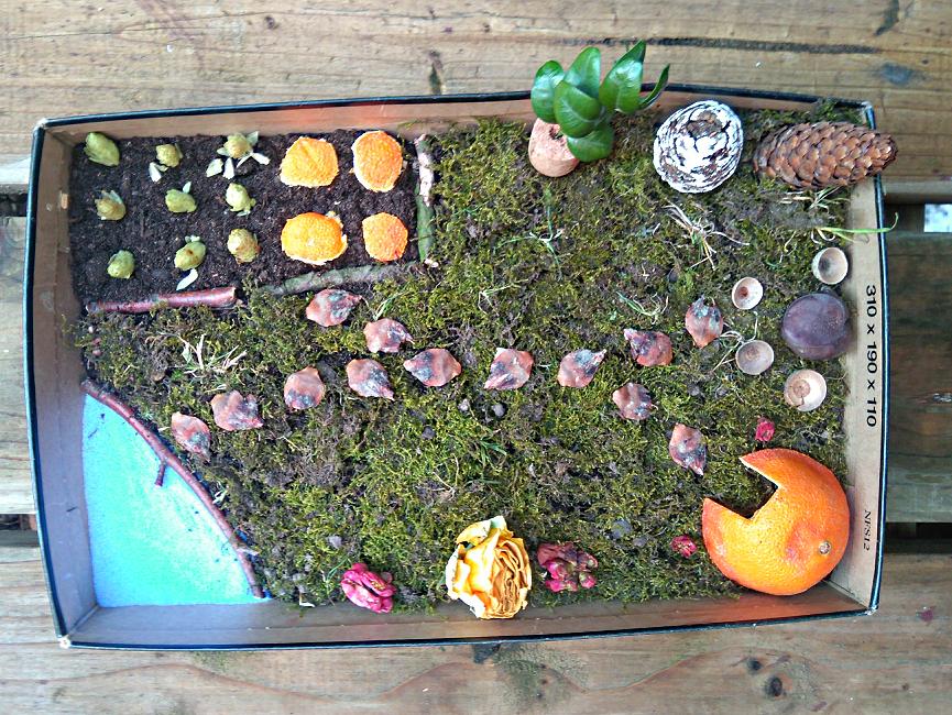 Jardin miniature allonge