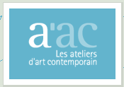 Logo ateliers d art contemporain