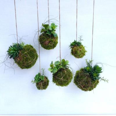 Original artificial kokedama